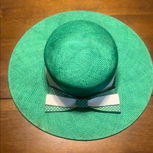 LIZ CLAIBORNE GREEN WOMEN'S HAT